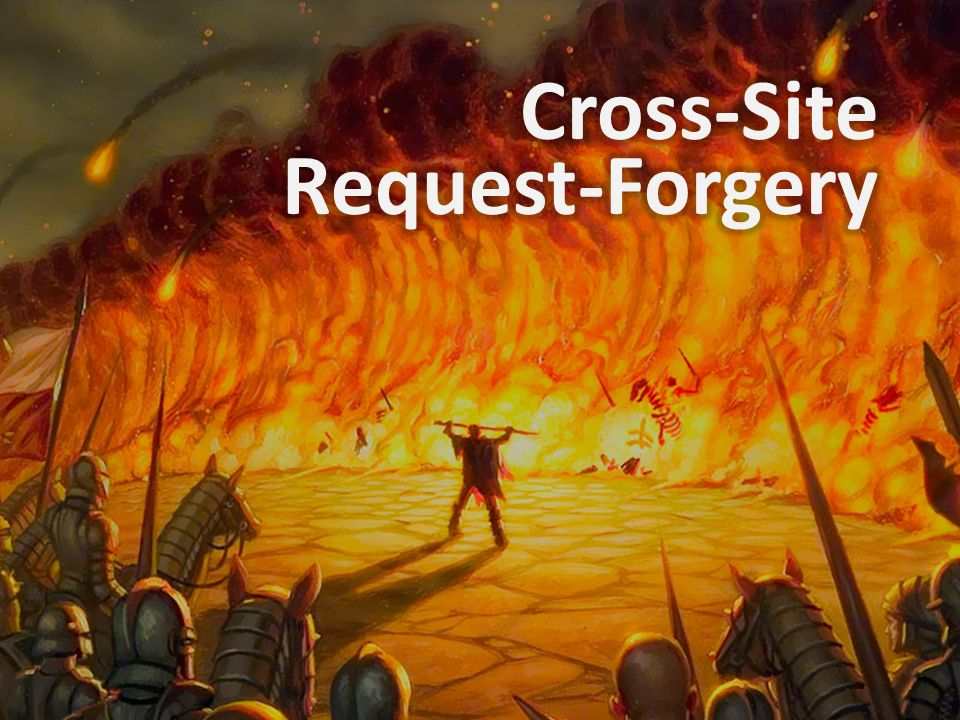 Cross-Site Request-Forgery