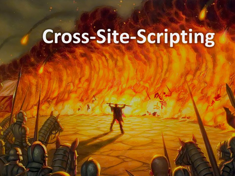 Cross-Site-Scripting