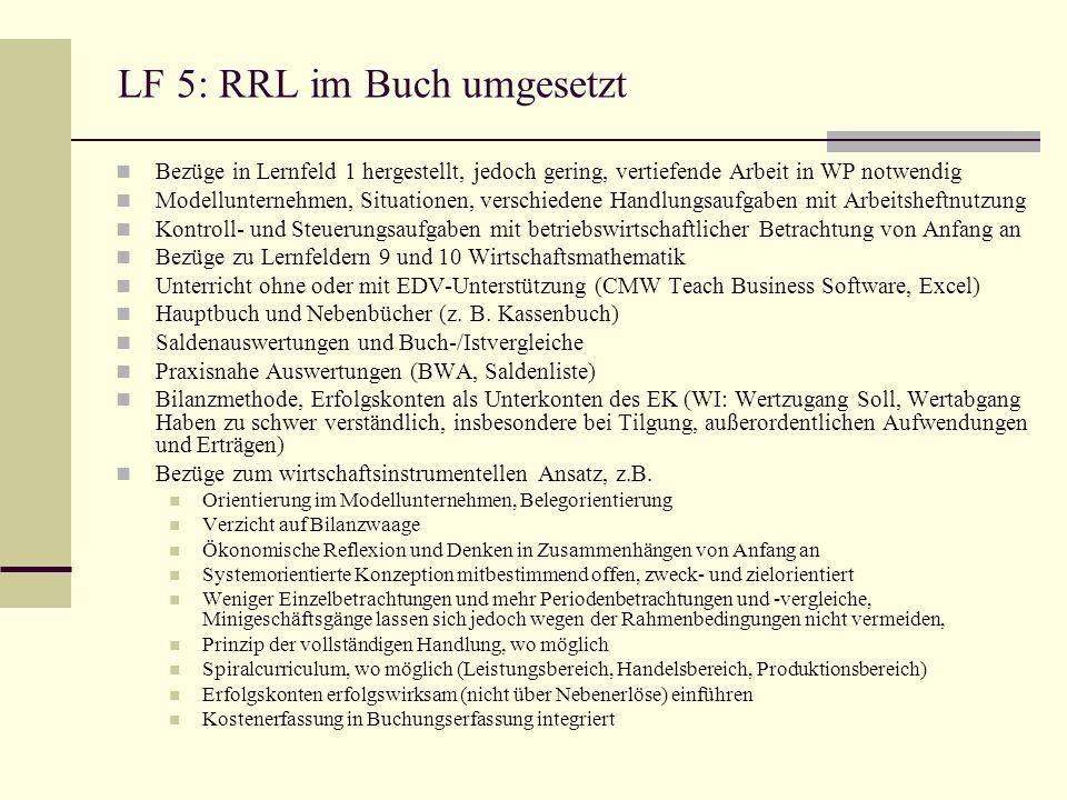 LF 5: RRL im Buch umgesetzt