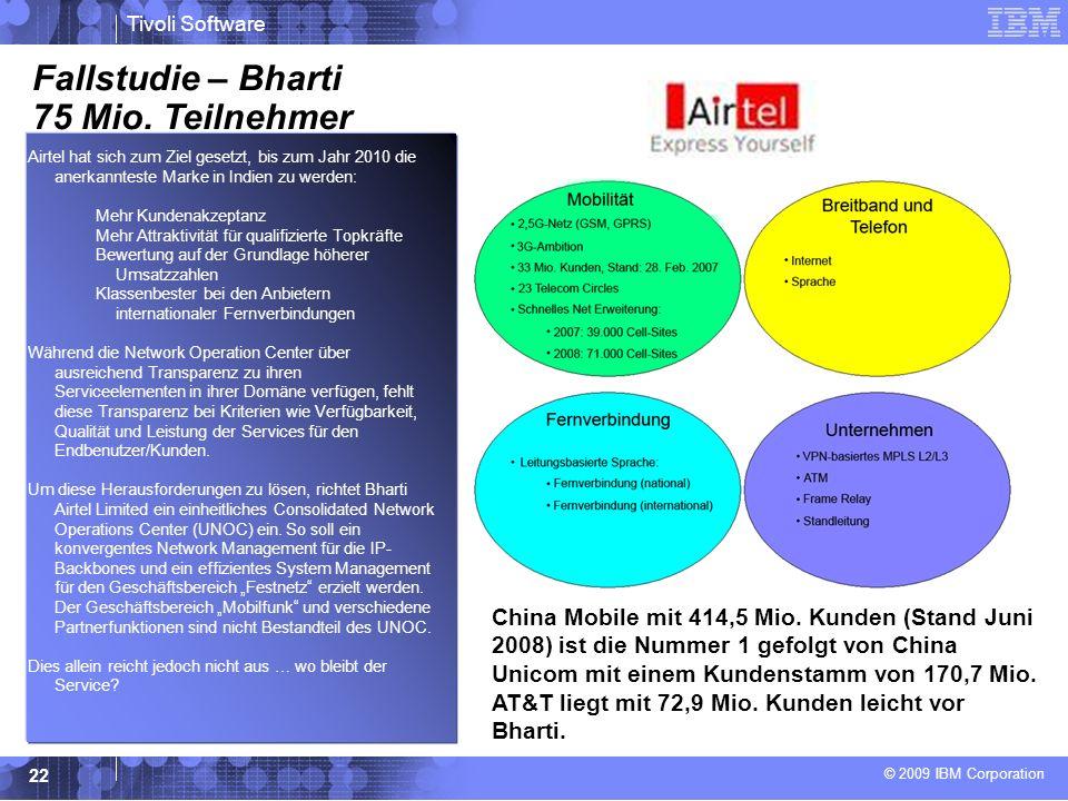 Fallstudie – Bharti 75 Mio. Teilnehmer