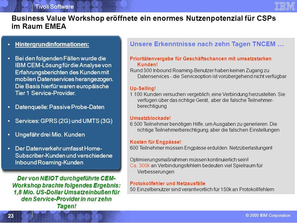 Business Value Workshop eröffnete ein enormes Nutzenpotenzial für CSPs im Raum EMEA