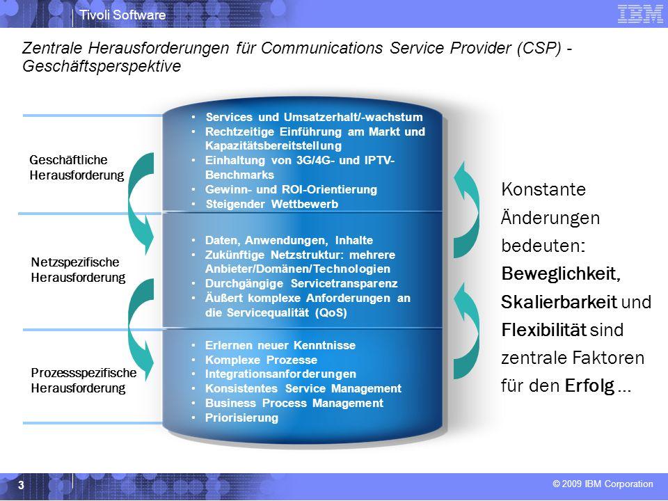 Zentrale Herausforderungen für Communications Service Provider (CSP) - Geschäftsperspektive