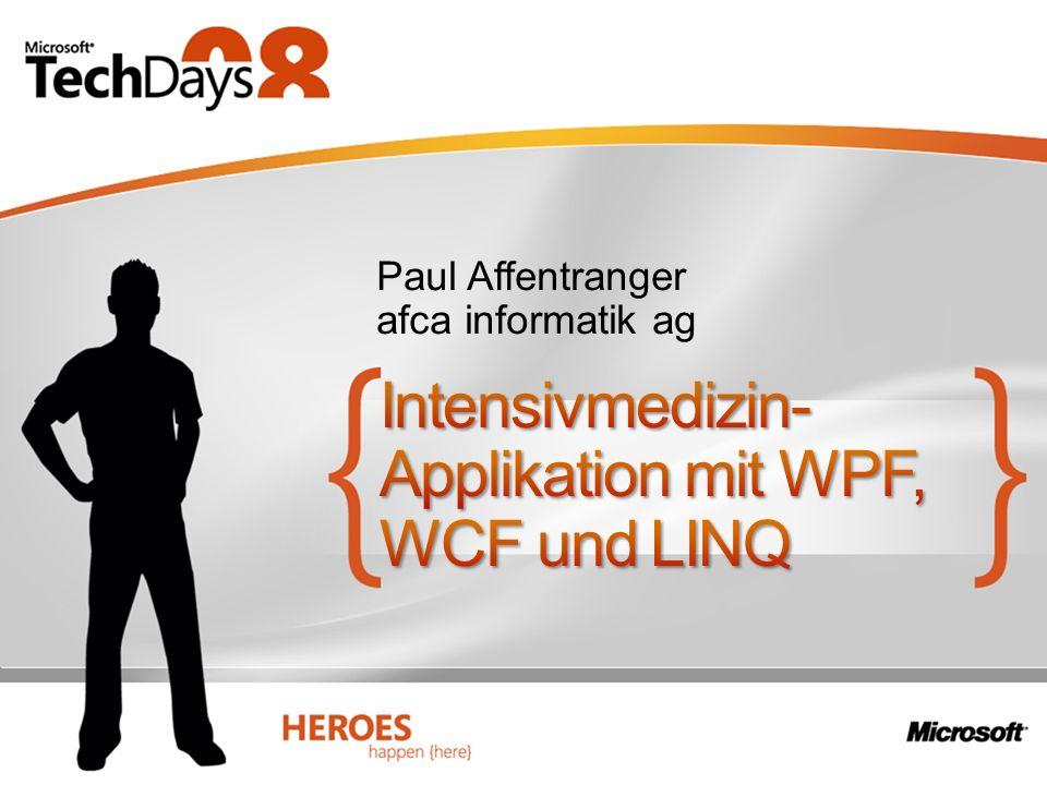 Intensivmedizin-Applikation mit WPF, WCF und LINQ