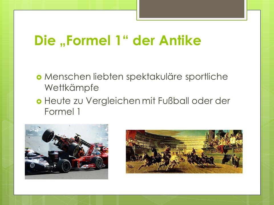 """Die """"Formel 1 der Antike"""