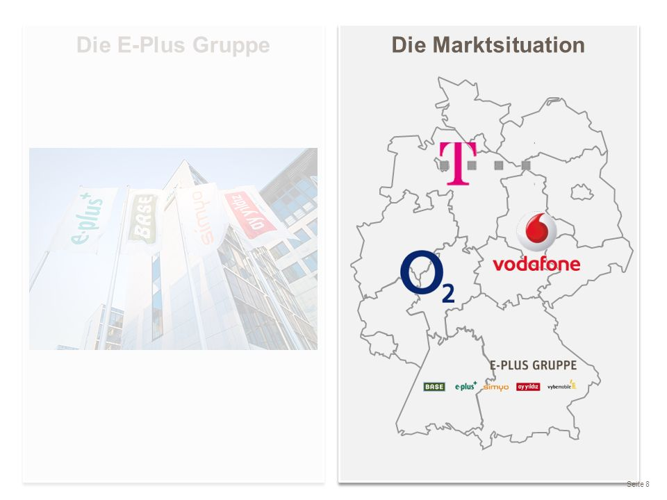 Die E-Plus Gruppe Die Marktsituation