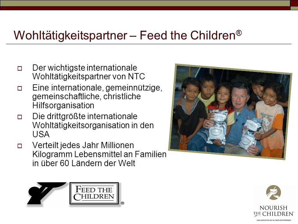 Wohltätigkeitspartner – Feed the Children®