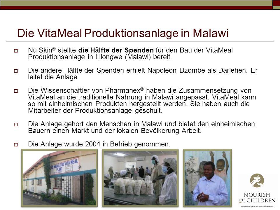 Die VitaMeal Produktionsanlage in Malawi