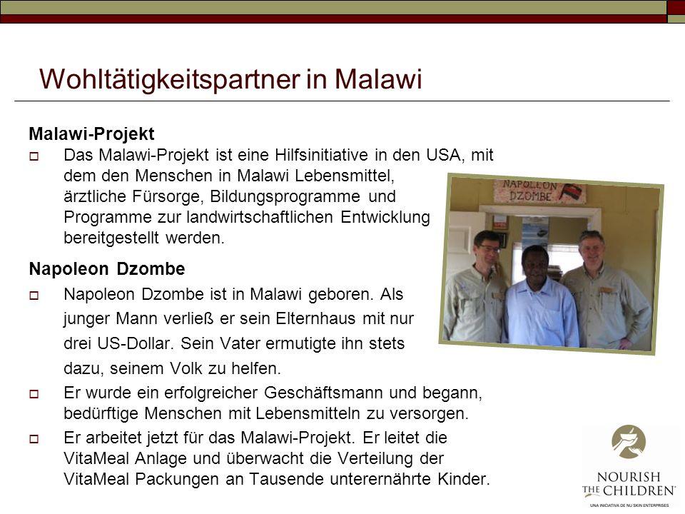Wohltätigkeitspartner in Malawi