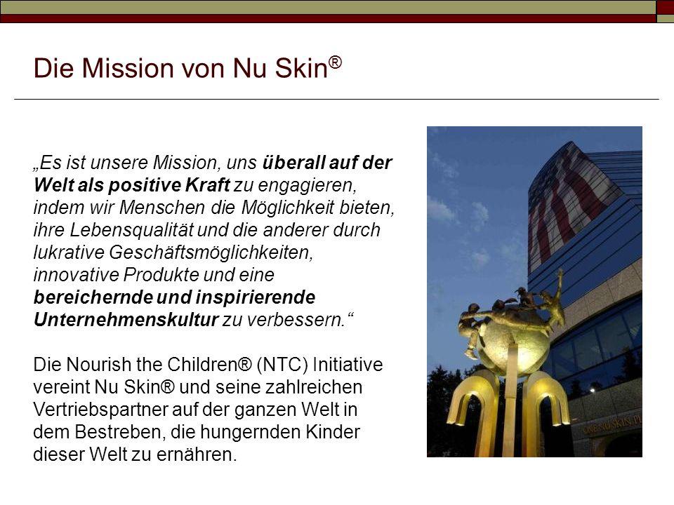 Die Mission von Nu Skin®