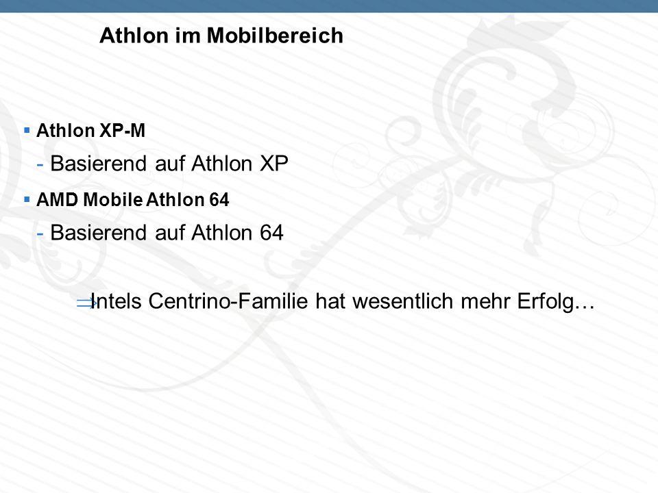 Athlon im Mobilbereich