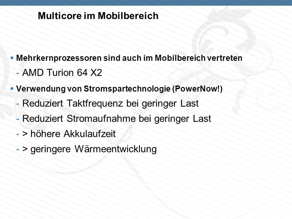 Multicore im Mobilbereich