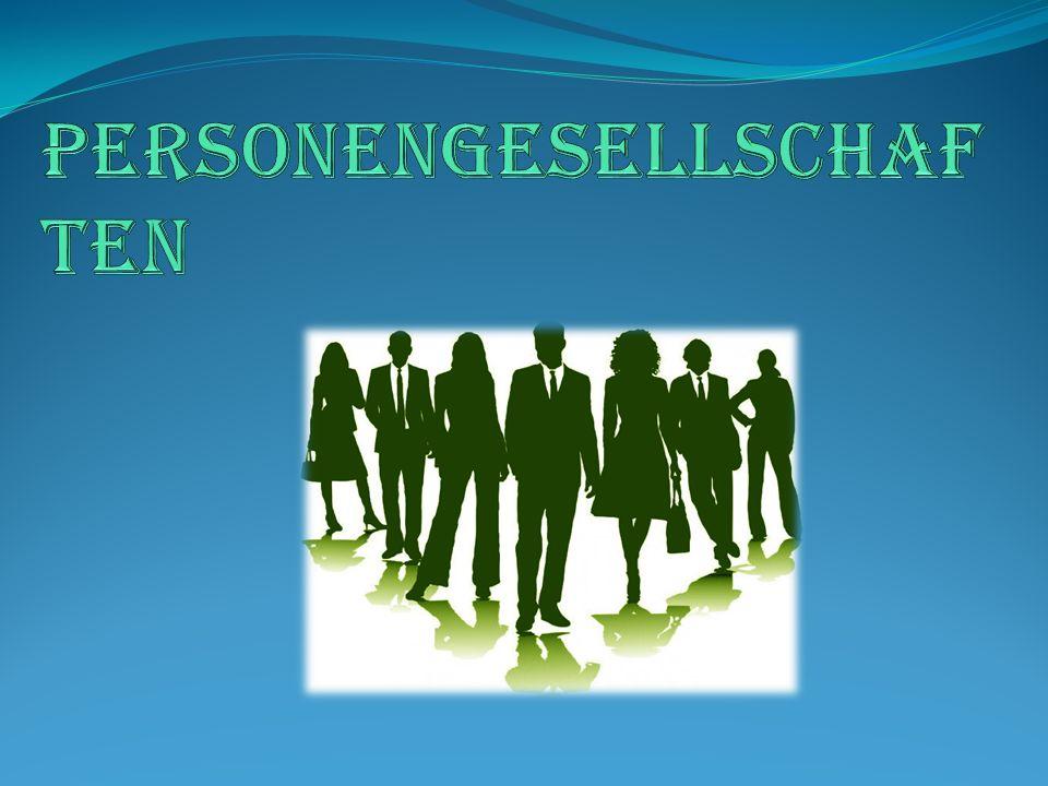 Personengesellschaften