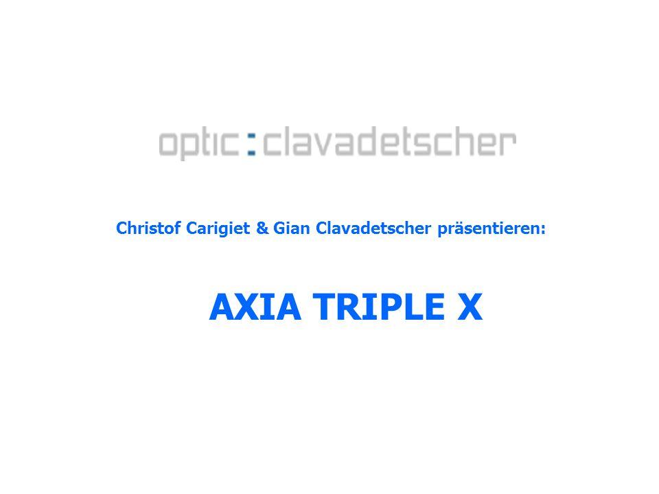 Christof Carigiet & Gian Clavadetscher präsentieren: