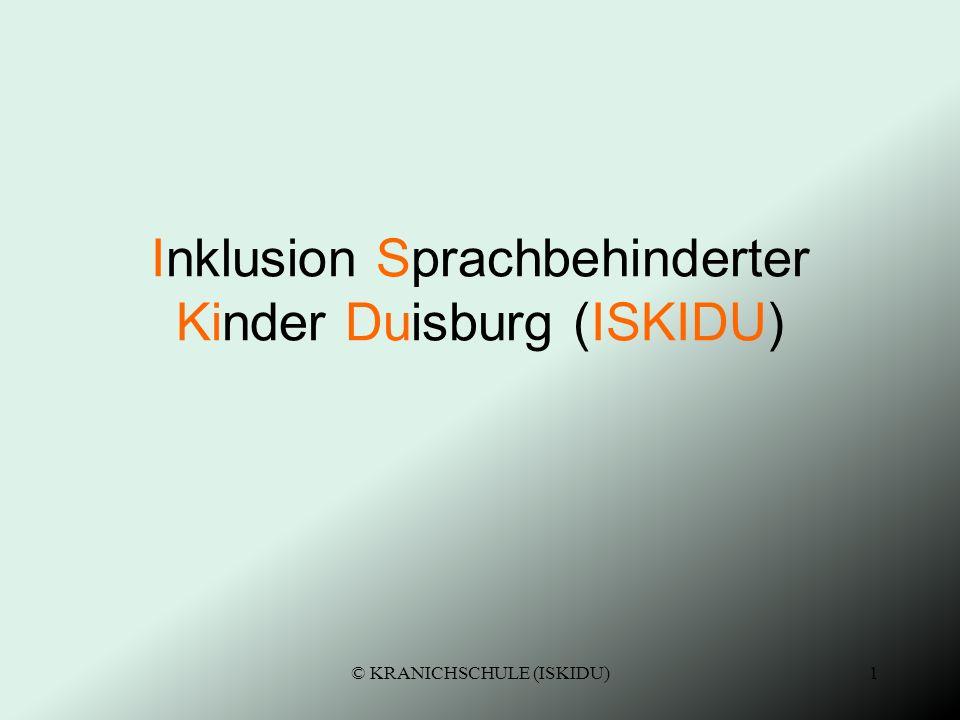 Inklusion Sprachbehinderter Kinder Duisburg (ISKIDU)