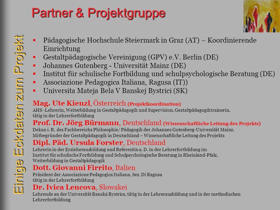 Partner & Projektgruppe