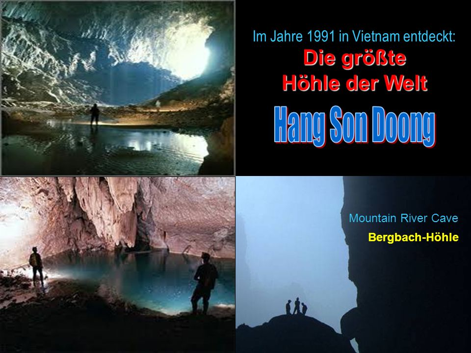 Die größte Höhle der Welt