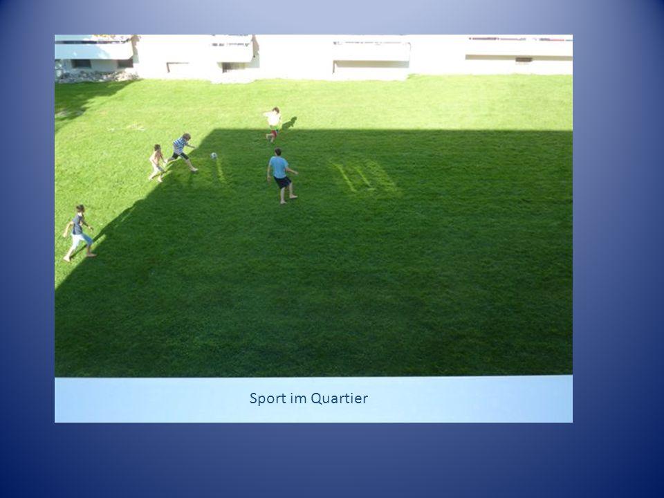 Sport im Quartier Sport im Quartier