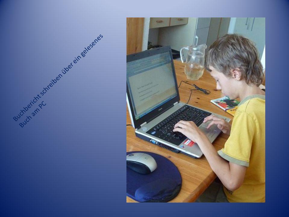 Buchbericht schreiben über ein gelesenes Buch am PC