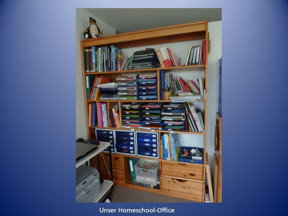 Unser Homeschool-Office