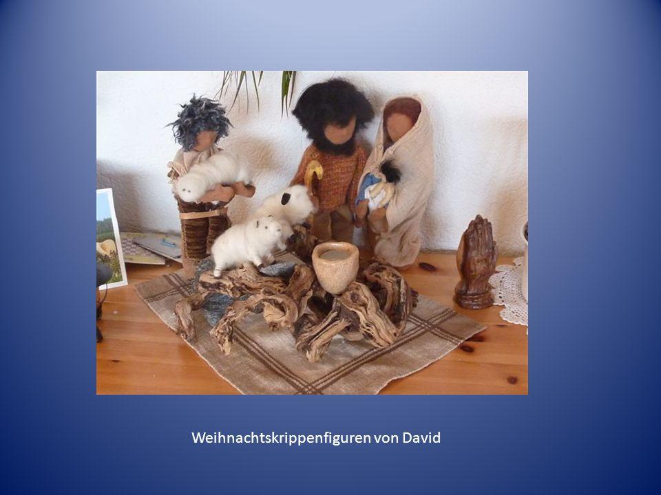 Weihnachtskrippenfiguren von David