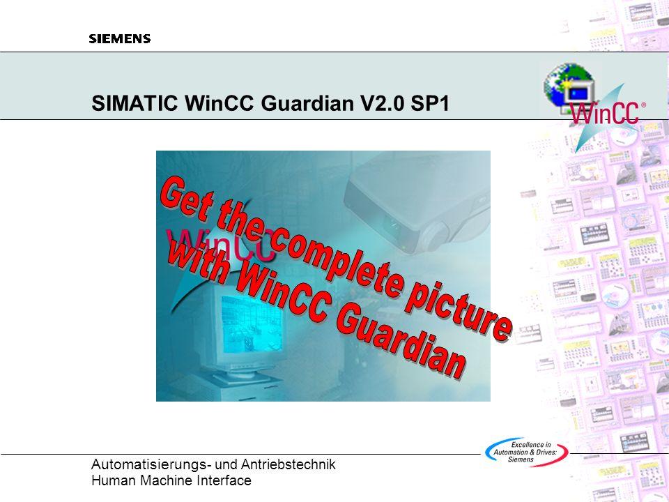 SIMATIC WinCC Guardian V2.0 SP1