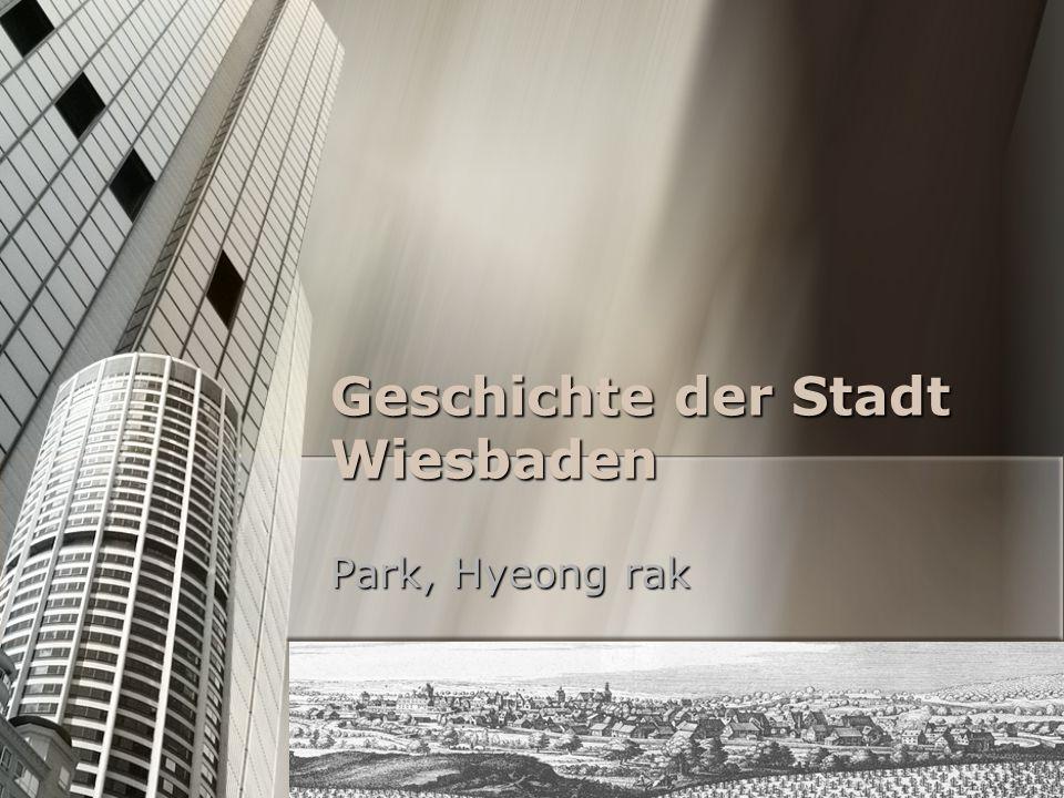 Geschichte der Stadt Wiesbaden