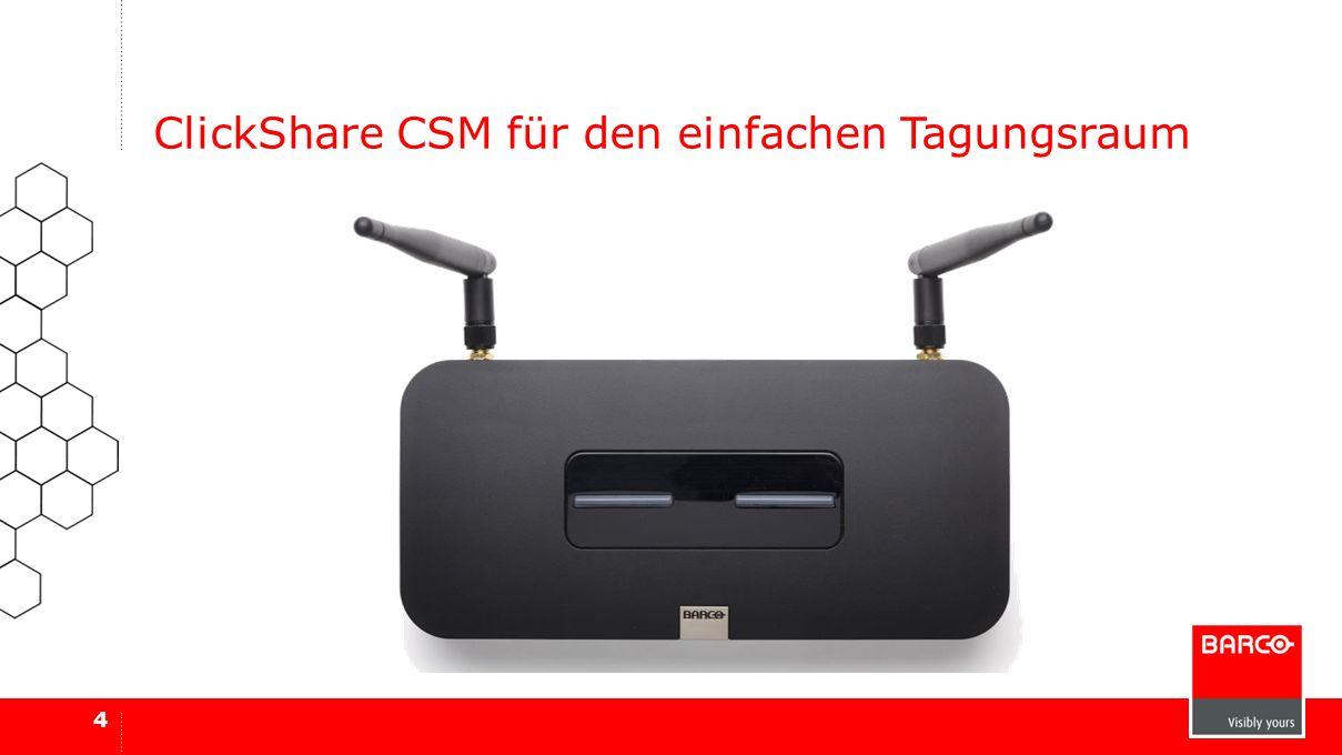 ClickShare CSM für den einfachen Tagungsraum