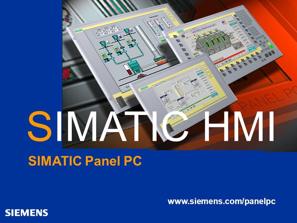 SIMATIC HMI SIMATIC HMI SIMATIC Panel PC www.siemens.com/panelpc