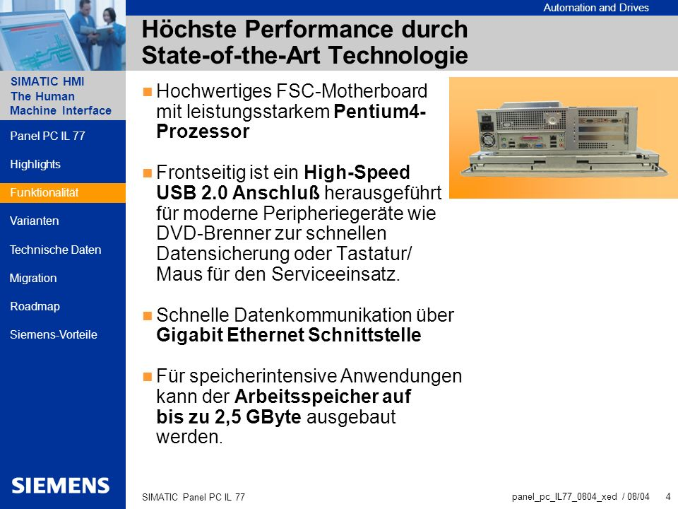 Höchste Performance durch State-of-the-Art Technologie