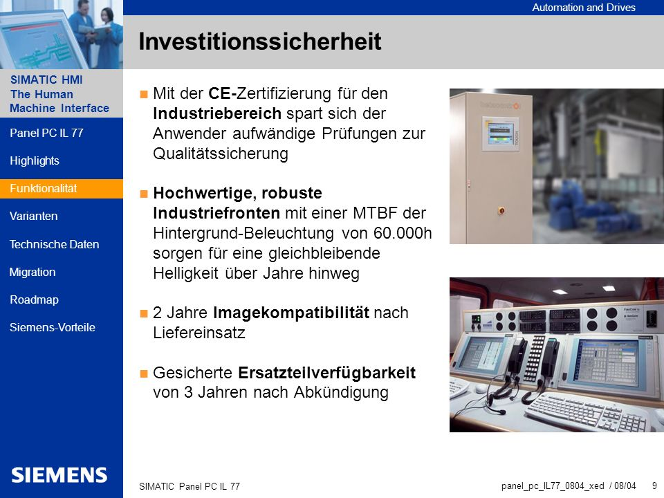 Investitionssicherheit