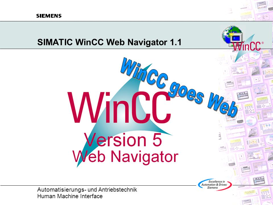 SIMATIC WinCC Web Navigator 1.1