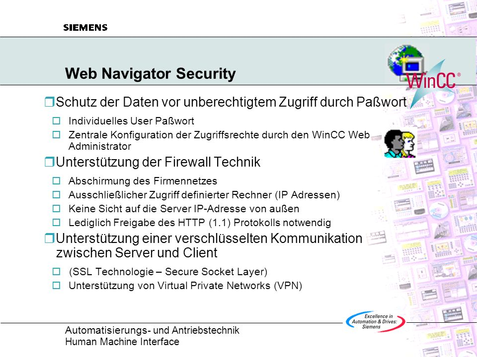 Web Navigator Security