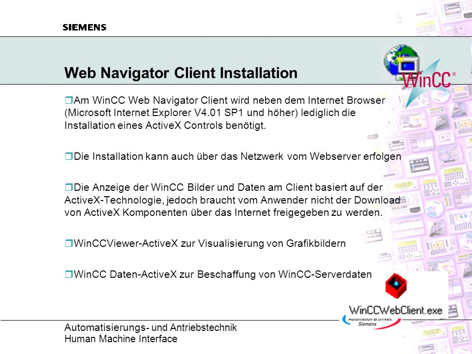 Web Navigator Client Installation