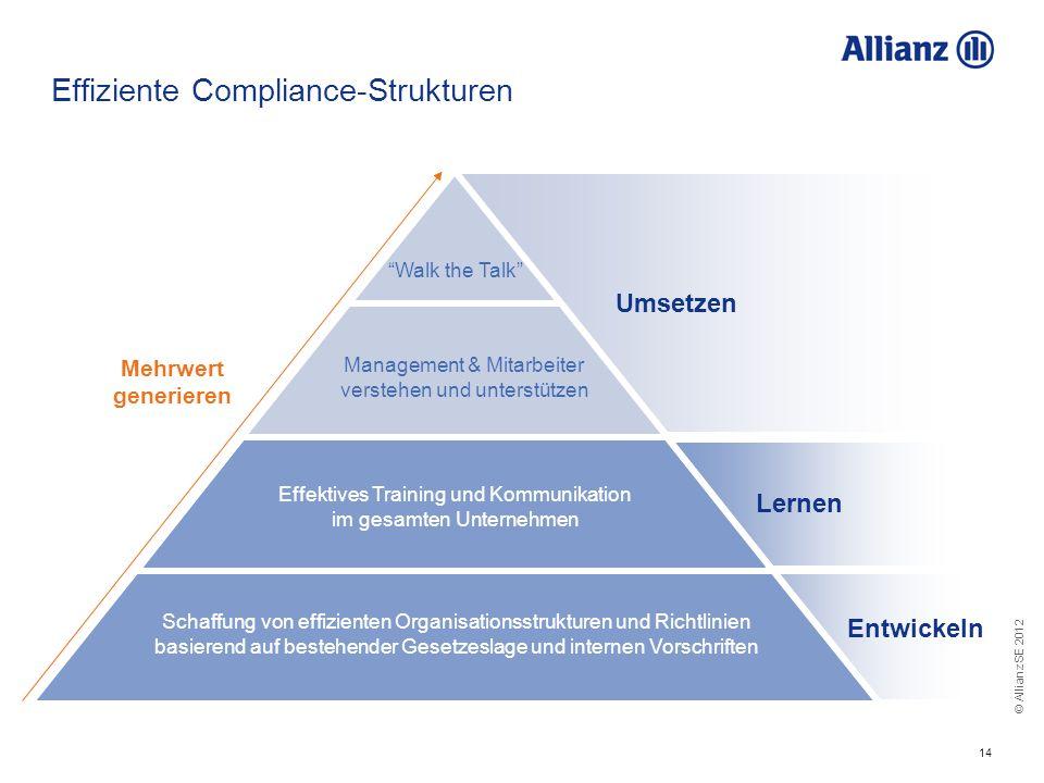 Effiziente Compliance-Strukturen