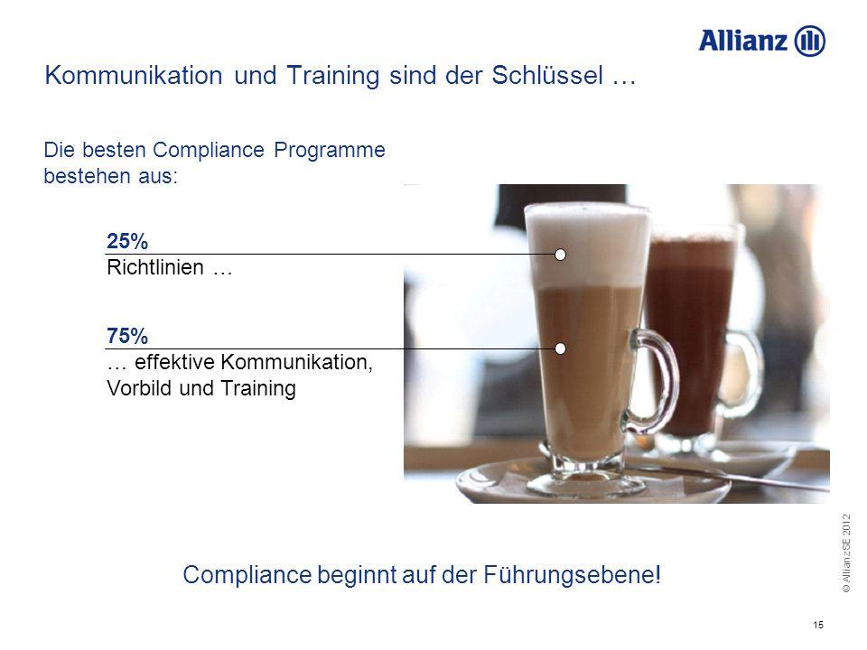 Kommunikation und Training sind der Schlüssel …