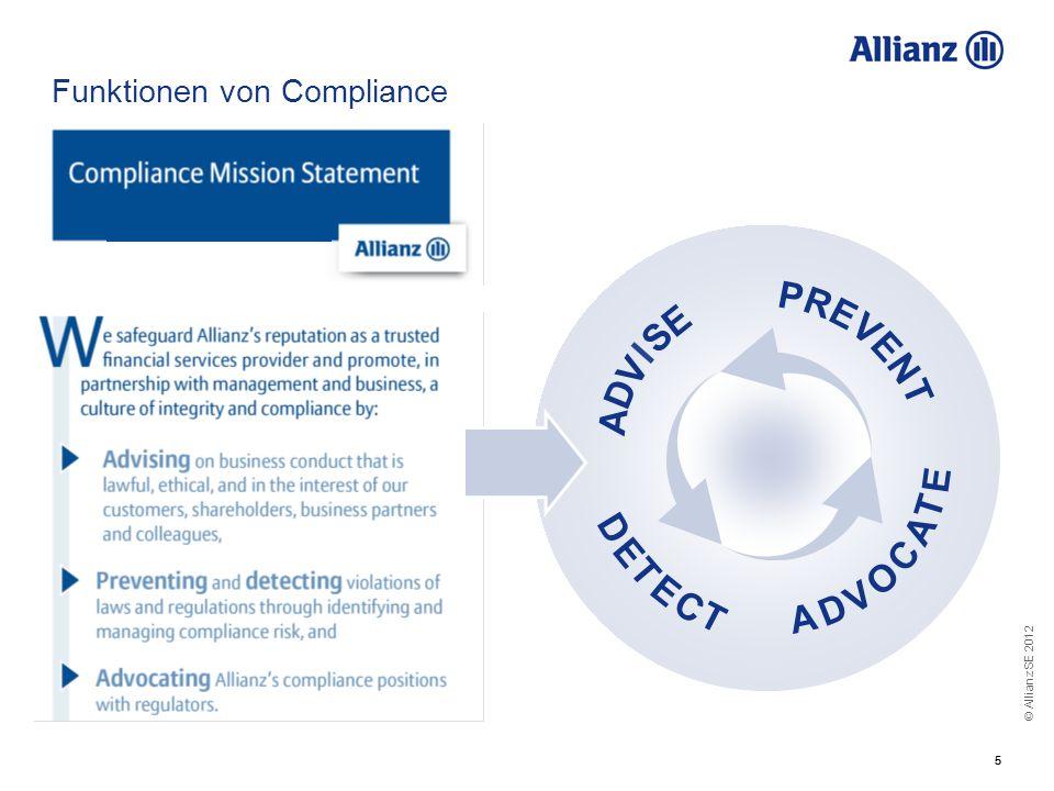 Funktionen von Compliance