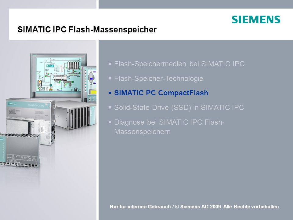 SIMATIC IPC Flash-Massenspeicher