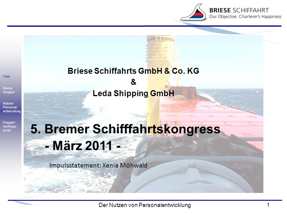 Briese Schiffahrts GmbH & Co. KG