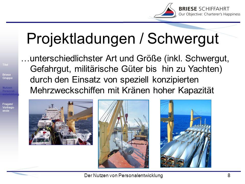 Projektladungen / Schwergut