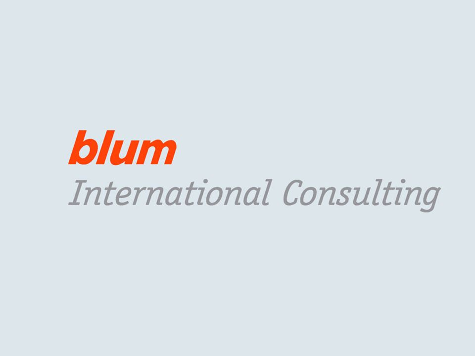© Blum International Consulting GmbH