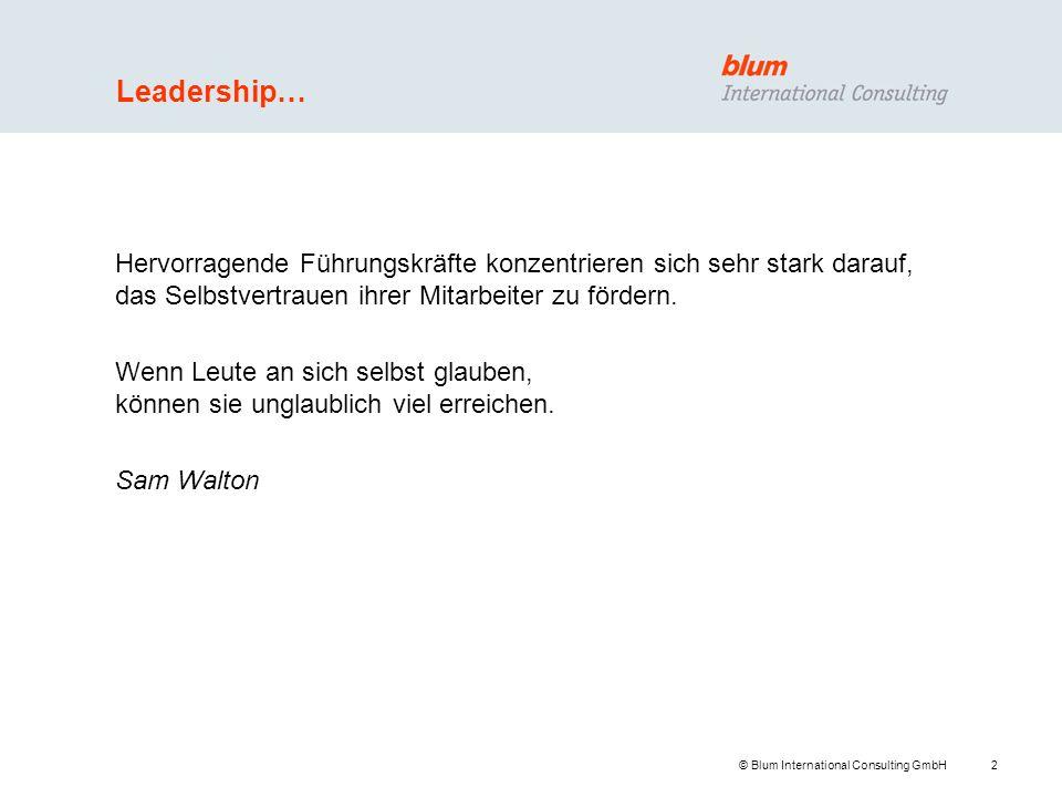 Leadership… Hervorragende Führungskräfte konzentrieren sich sehr stark darauf, das Selbstvertrauen ihrer Mitarbeiter zu fördern.