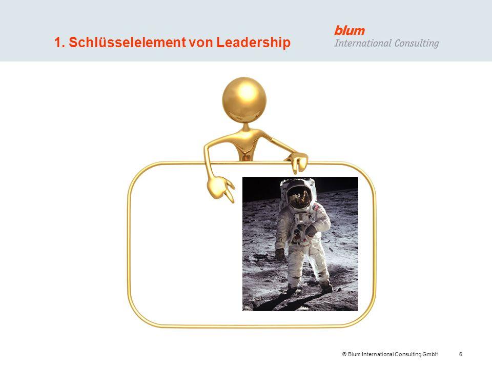 1. Schlüsselelement von Leadership