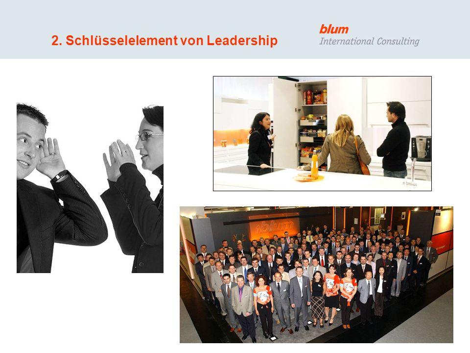 2. Schlüsselelement von Leadership
