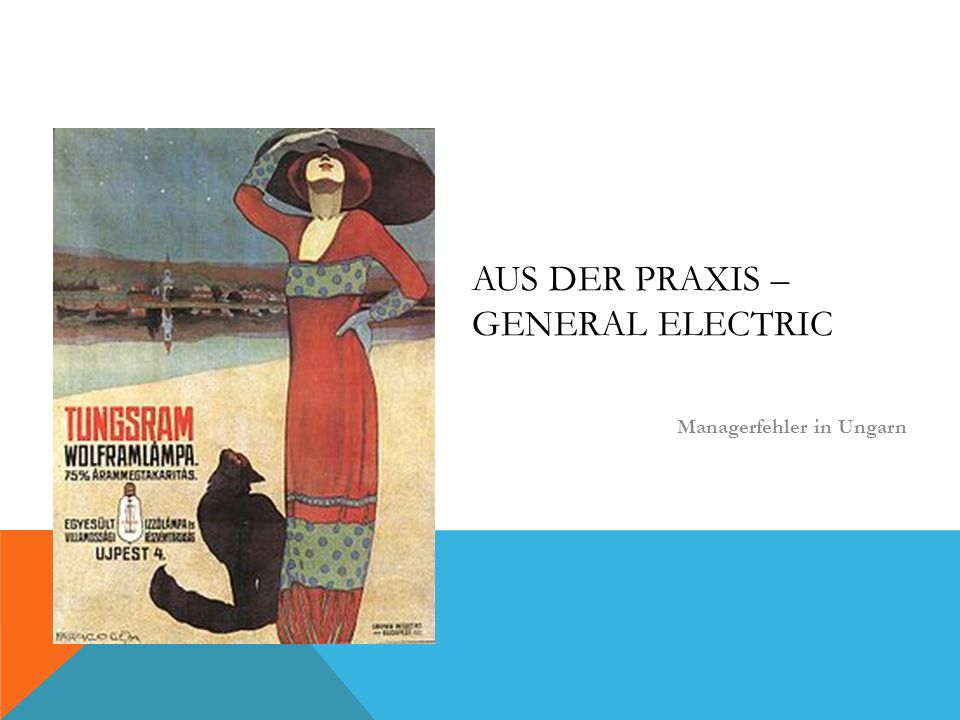 Aus der Praxis – General Electric