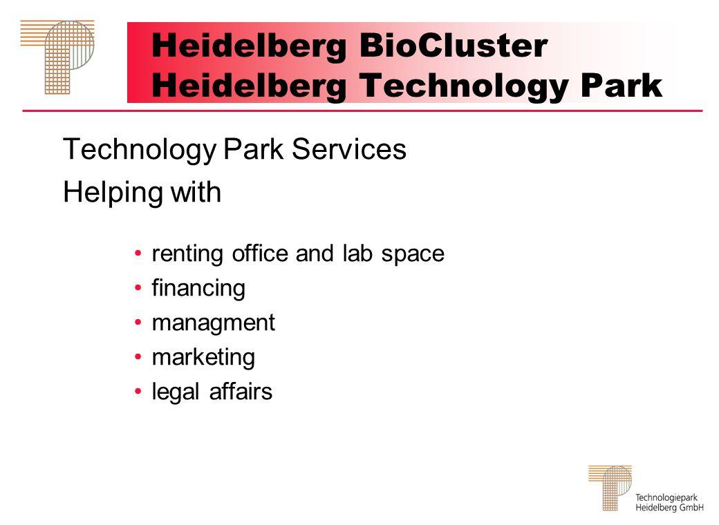 Heidelberg BioCluster Heidelberg Technology Park