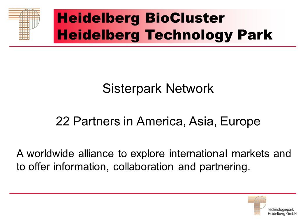 22 Partners in America, Asia, Europe