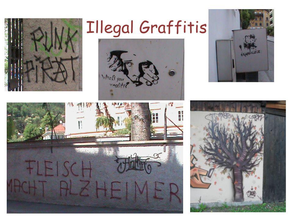 Illegal Graffitis