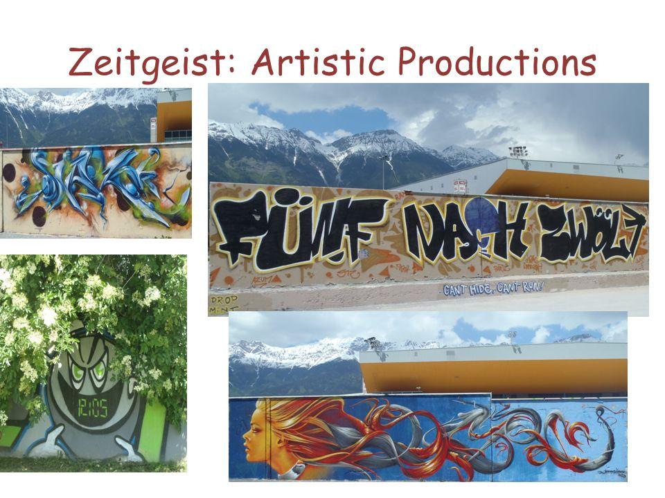 Zeitgeist: Artistic Productions