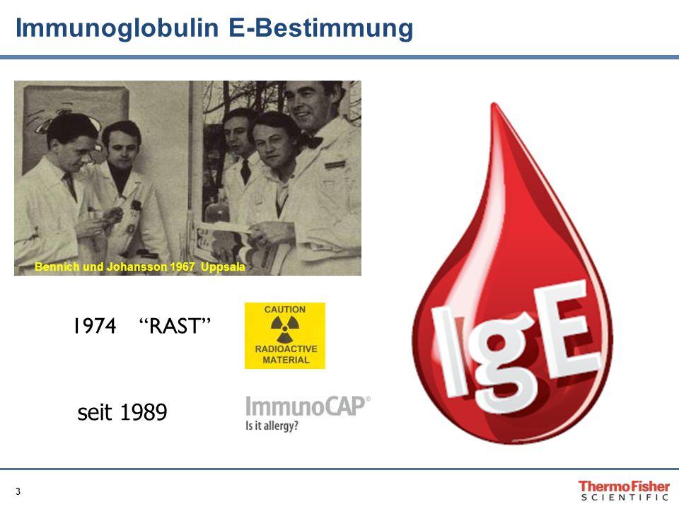 Immunoglobulin E-Bestimmung