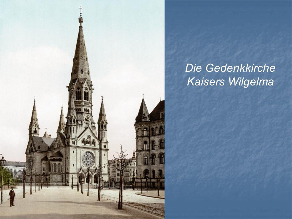 Die Gedenkkirche Kaisers Wilgelma